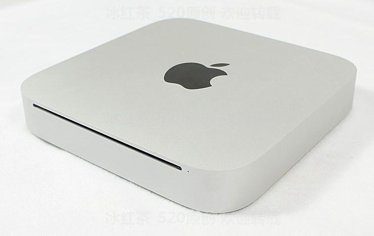 苹果Mac mini DIY改装超薄逼格超高HTPC电脑主机箱